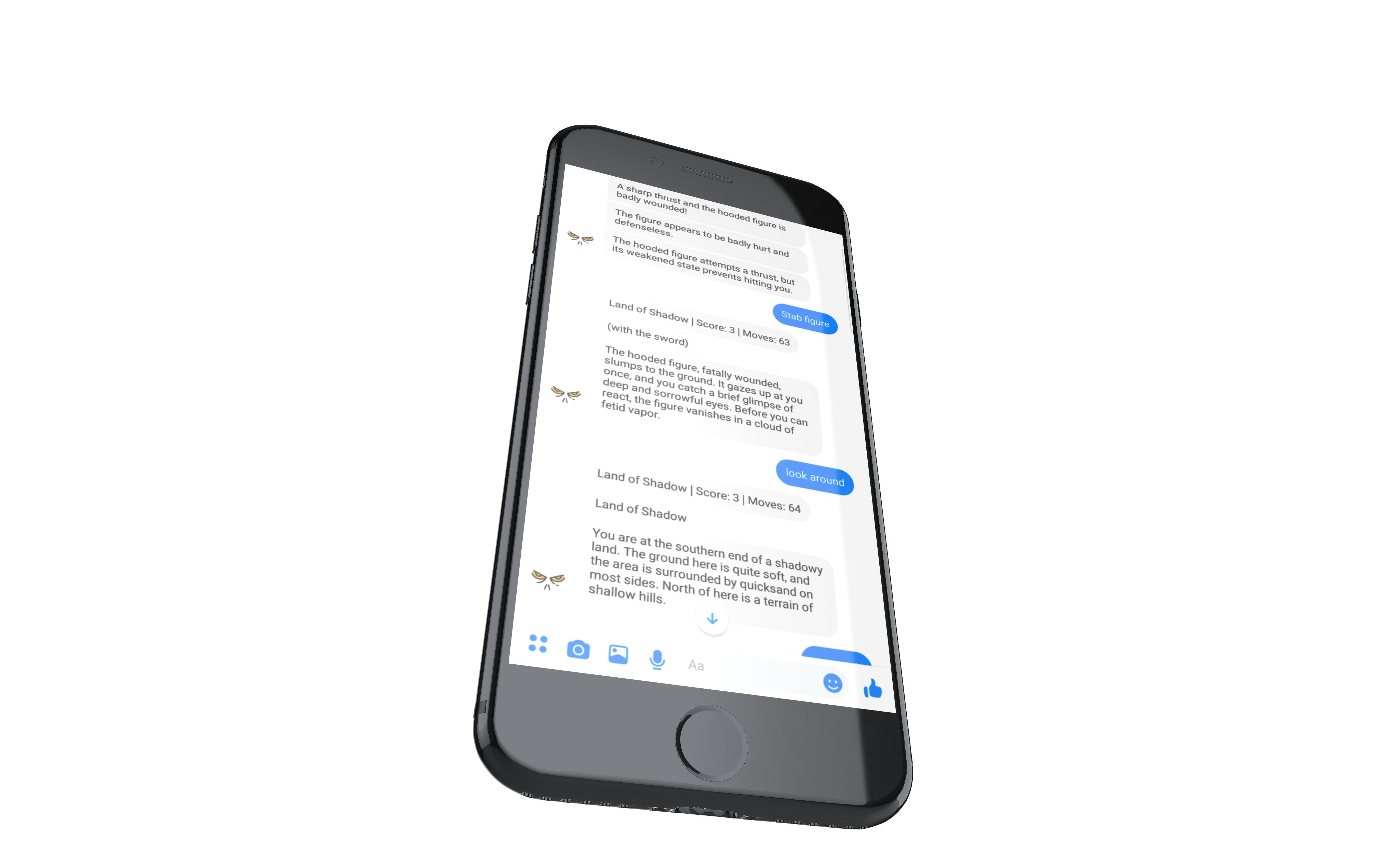 zork messenger screenshot